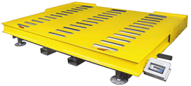 Floor Scales Roller Deck