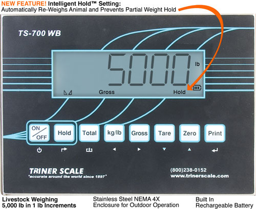 Floor Scale TS-700WB Indicator