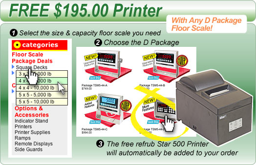 Floor Scales Direct - Printer Special