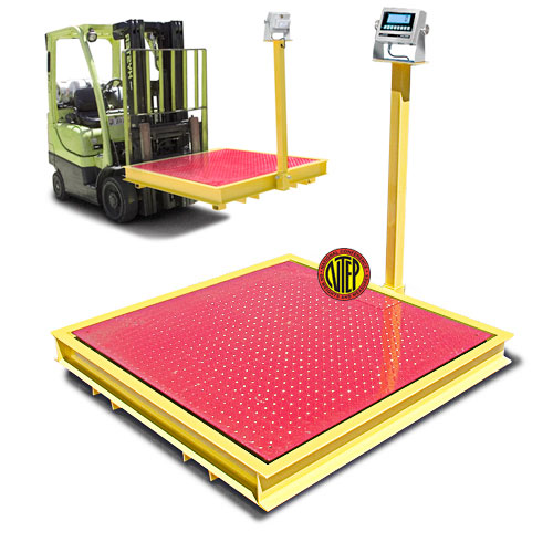 TSM10-44-CP Forklift Portable Floor Scale