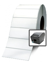 TSP700ii Printer Thermal Lable Roll 2